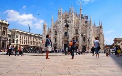 Milano in Italy
