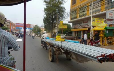 Phnom Phen in Cambodia