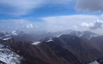 Jebel Toubkal in Morocco
