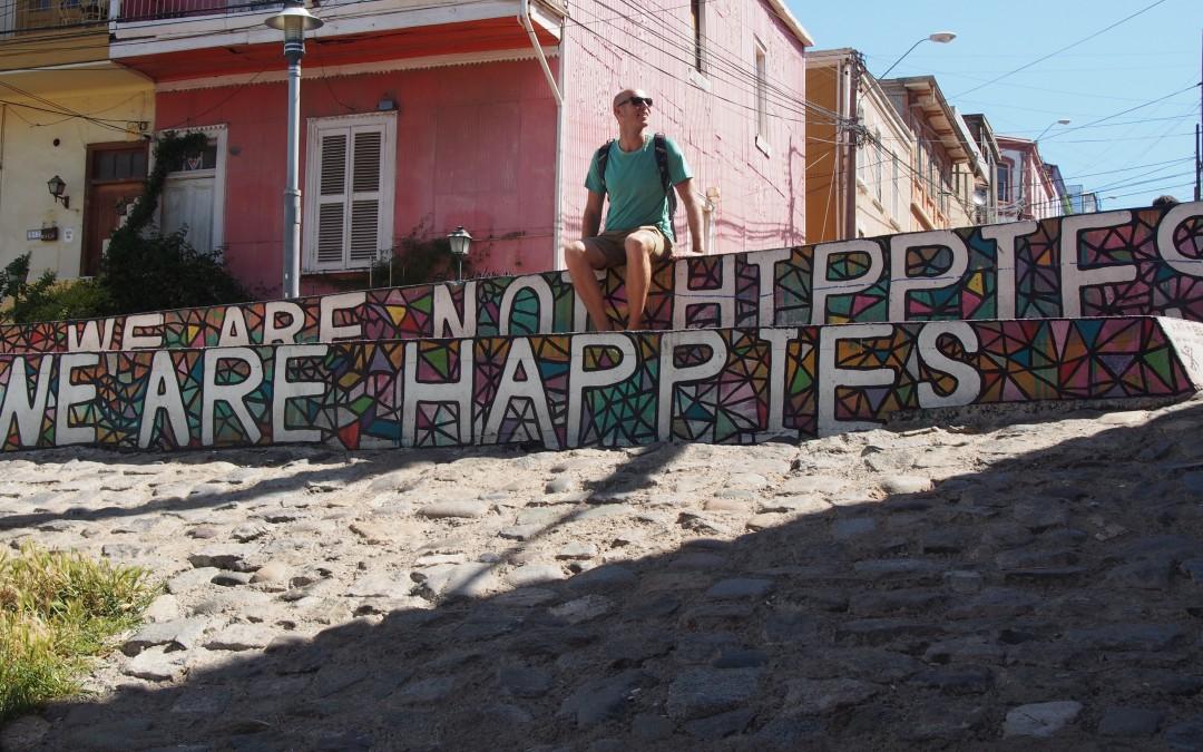 De havenstad Valparaíso