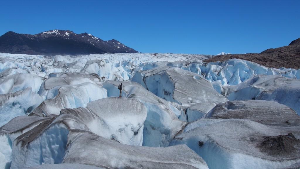 Glaciar Viedma, grootste gletsjer van Patagonië